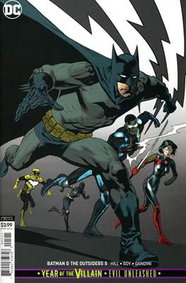 Batman and The Outsiders Vol. 3 (2019-Variant Cover) (Comic Book) #5