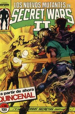 Secret Wars (1985-1987) (Grapa 32 pp) #14
