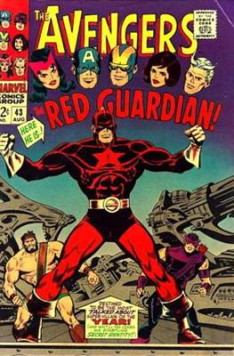 The Avengers Vol. 1 (1963-1996) (Grapa) #43