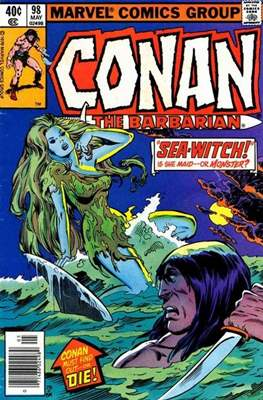 Conan The Barbarian (1970-1993) (Comic Book 32 pp) #98