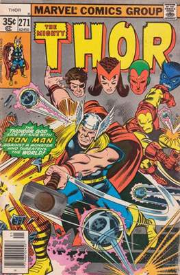 Journey into Mystery / Thor Vol 1 (Comic Book) #271