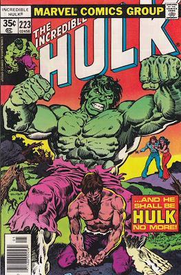 The Incredible Hulk Vol. 1 (1962-1999) (Comic Book) #223