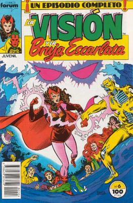 La Vision y la Bruja Escarlata (1988-1989) (Grapa. 17x26. 24 páginas. Color.) #6