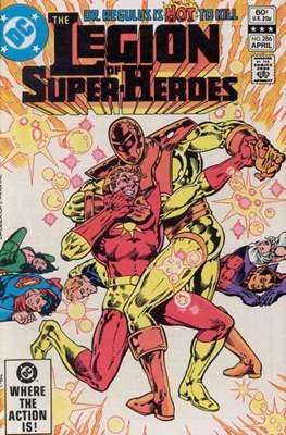 Legion of Super-Heroes Vol. 2 (1980-1987) #286