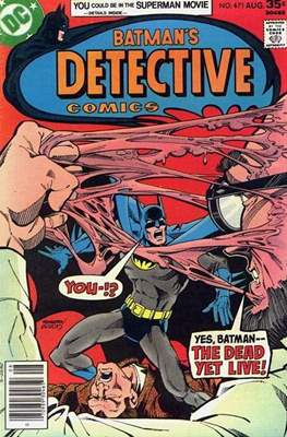 Detective Comics Vol. 1 (1937-2011; 2016-) (Comic Book) #471