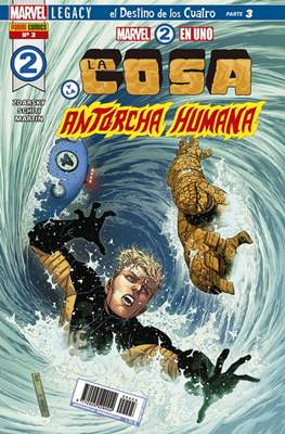 Marvel 2 en Uno: La Cosa y La Antorcha Humana #3
