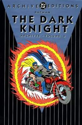 DC Archive Editions. Batman The Dark Knight (Hardcover with dust cover) #6