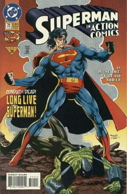 Action Comics Vol. 1 (1938-2011; 2016-) (Comic Book) #711