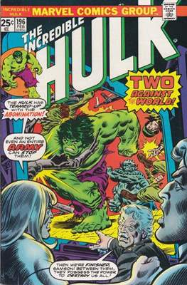 The Incredible Hulk Vol. 1 (1962-1999) (Comic Book) #196