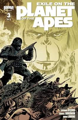 Exile on the Planet of the Apes (Grapa) #3