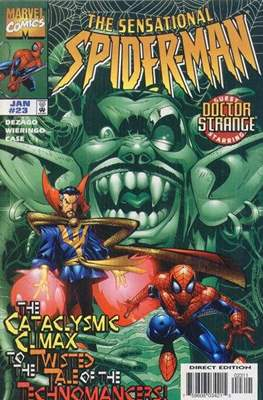 The Sensational Spider-Man (1996-1998) (Comic Book) #23
