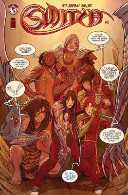 Switch (Comic Book) #3