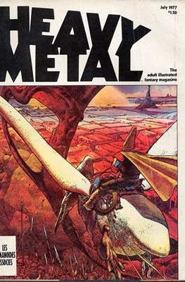 Heavy Metal Magazine (Grapa) #4