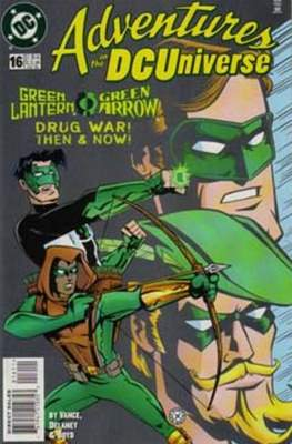 Adventures in the DC Universe (comic grapa usa) #16