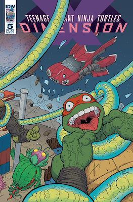 Teenage Mutant Ninja Turtles: Dimension X #5