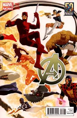 Avengers Vol. 5 (2013-2015 Variant Covers) (Comic Book) #12
