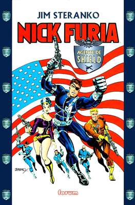 Nick Furia. Agente de S.H.I.E.L.D.
