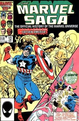 Marvel Saga (Comic-book.) #12