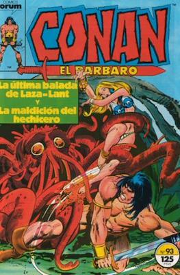 Conan el Bárbaro (1983-1994) #93