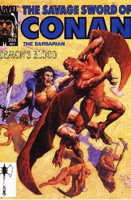 The Savage Sword of Conan the Barbarian (1974-1995) #203