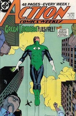 Action Comics Vol. 1 (1938-2011; 2016-) (Comic Book) #626
