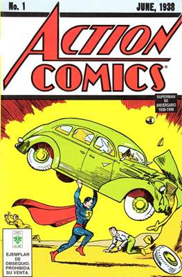Action Comics #1. Superman 60 aniversario. 1938-1998