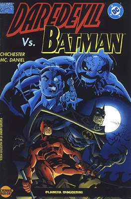 Daredevil vs. Batman. Línea Crossover