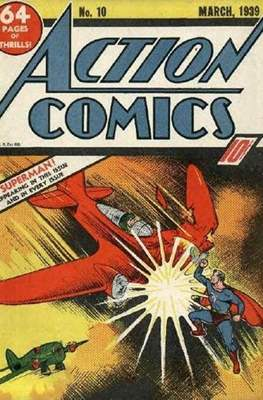Action Comics Vol. 1 (1938-2011; 2016-) (Comic Book) #10