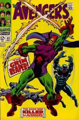 The Avengers Vol. 1 (1963-1996) (Comic Book) #52