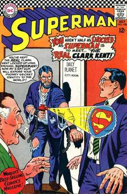 Superman Vol. 1 / Adventures of Superman Vol. 1 (1939-2011) (Comic Book) #198