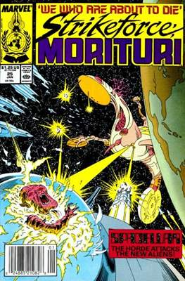 Strikeforce Morituri (Comic-book.) #25