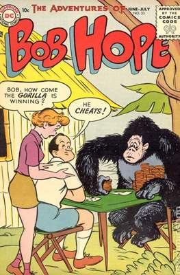 The adventures of bob hope vol 1 #33