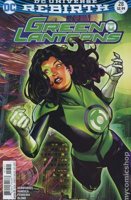 Green Lanterns (Vol. 1 2016-... Variant Covers) (Comic Book) #28