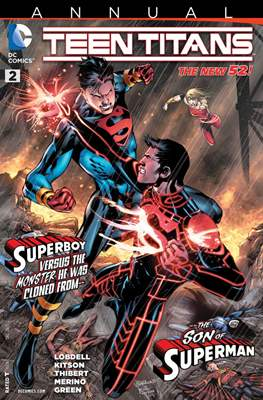 Teen Titans. New 52 Annuals (saddle-stitched) #2