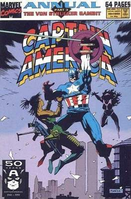 Captain America Vol. 1 Annual (1971-1994) #10