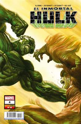 El Increíble Hulk Vol. 2 / Indestructible Hulk / El Alucinante Hulk / El Inmortal Hulk (2012-) (Comic Book) #79/4