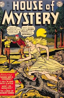 The House of Mystery #1