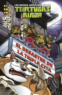Las nuevas aventuras de las Tortugas Ninja (Grapa 24 pp) #7