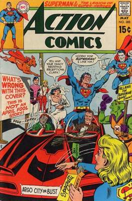 Action Comics Vol. 1 (1938-2011; 2016-) (Comic Book) #388