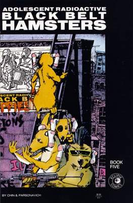 Adolescent Radioactive Black Belt Hamsters (1986-1988) #5