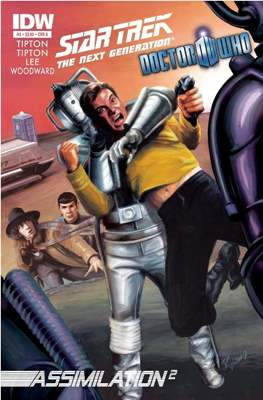 Star Trek: The Next Generation/Doctor Who: Assimilation² (Comic Book 24 pp) #3