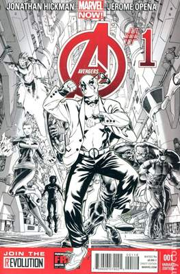 Avengers Vol. 5 (2013-2015 Variant Covers) #1.4