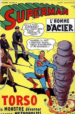 Superman l'homme d'acier / Superman avec Batman (Souple) #2
