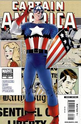 Captain America Vol. 5 (2005-2011 Variant Cover) (Comic Book) #50