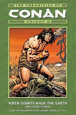 The Chronicles of Conan the Barbarian (Paperback) #10