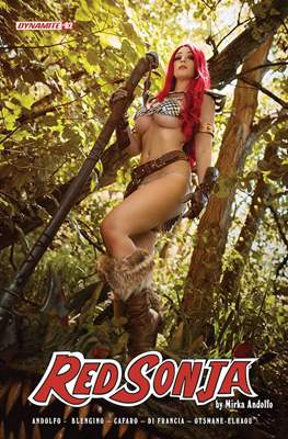 Red Sonja (2021-Variant Cover) #2.3