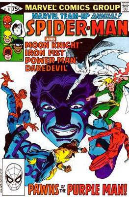 Marvel Team-Up Annual (Comic Book. 1976 - 1984) #4