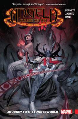 Angela Queen of Hel - Journey to Funderworld