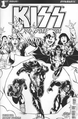KISS: Blood and Stardust (Variant Covers) (Comic Book) #1.6