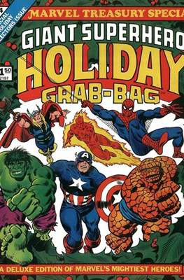Marvel Treasury Special: Giant Superhero Holiday Grab-Bag